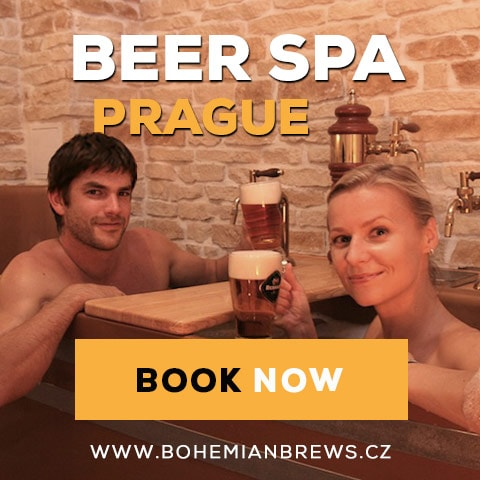 Square Banner Premium | Beer Spa in Prague - Bohemian Brews