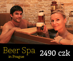Beer Spa in Prague - Golden City Beer Tours