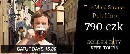 The Mala Strana Pub Hop - Golden City Beer Tours