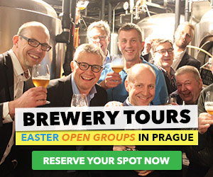 Brewery Tours in Prague - Golden City Beer Tours (300x250)