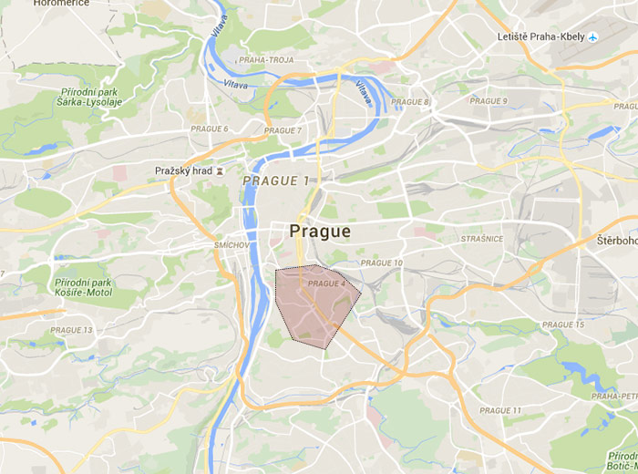 Nusle map