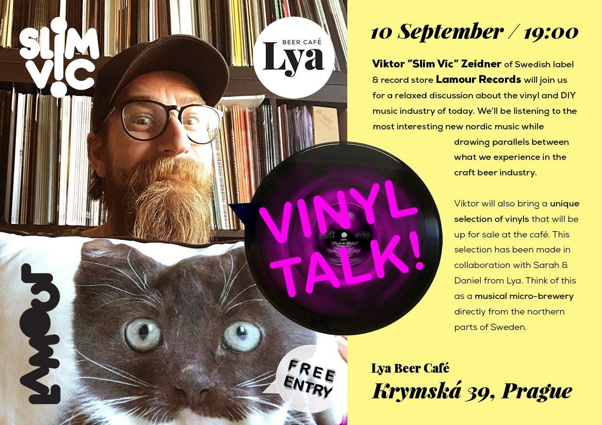 """Vinyl Talk with Viktor """"Slim Vic"""" Zeidner"""