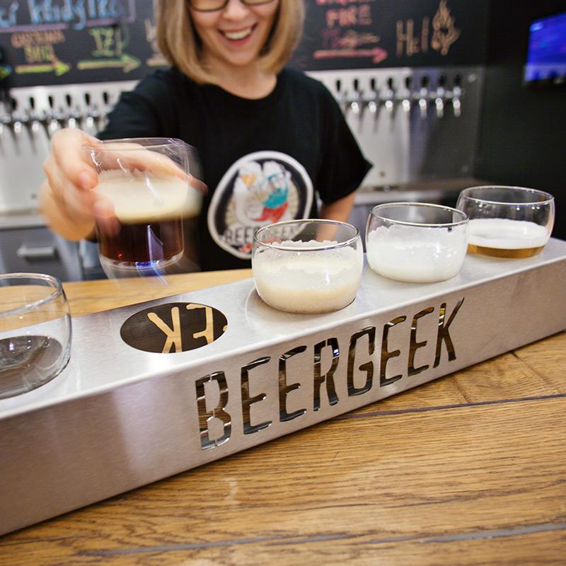 Beer Geek Flies Home