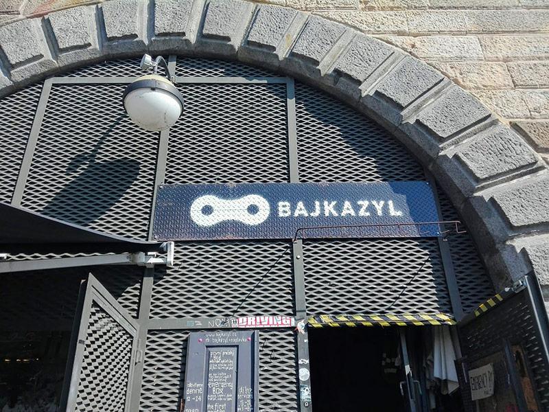 Bajkazyl Naplavka Prague