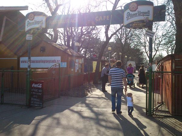 Riegrovy Sady Beer Garden is Open!