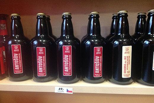 Prague Beer Shop Prices