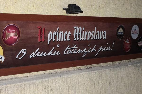U Prince Miroslava