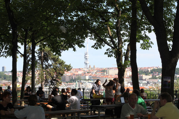 10 Favorite Places for Drinking Outdoors in Prague