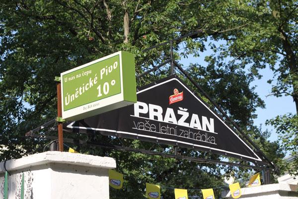Letní Zahrádka Pražan